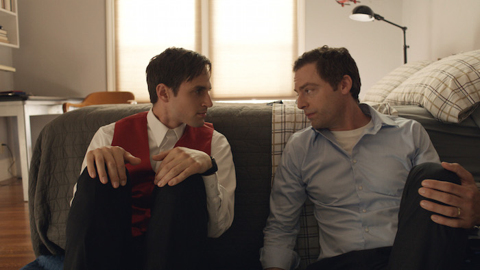 "Andrew J. West and Justin Kirk in ""Walter"" - eOne Films"