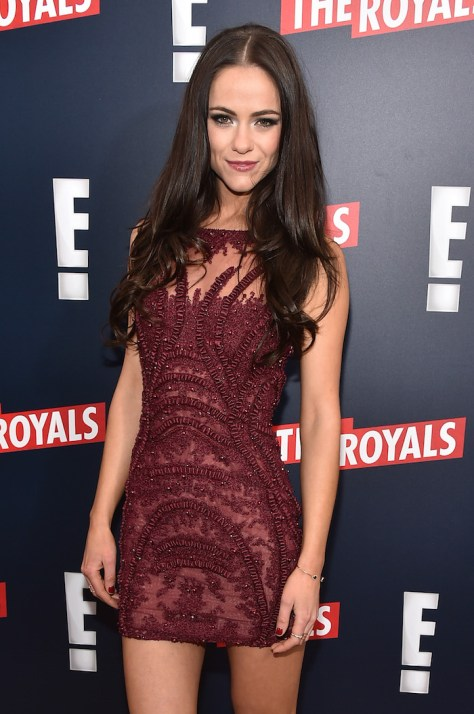 THE ROYALS -- Pictured: Actress Alexandra Park at The Royals premier party at The Top of The Standard on March 9, 2015 -- (Photo by: Theo Wargo/E! Entertainment)