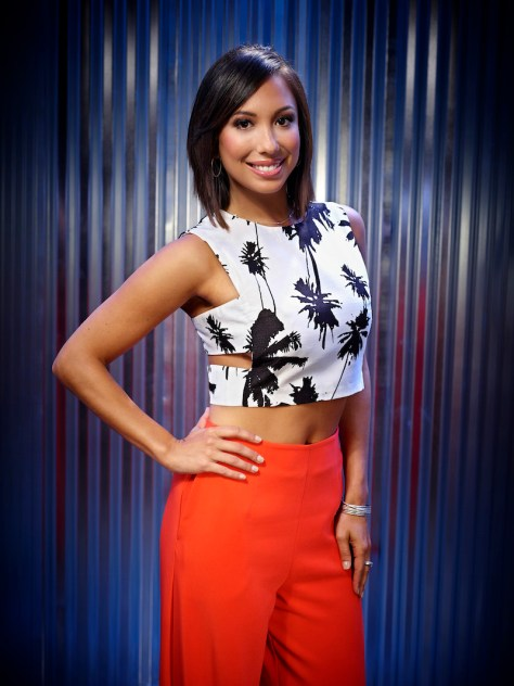 I CAN DO THAT! -- Season: 1 -- Pictured: Cheryl Burke -- (Photo by: Paul Drinkwater/NBC)