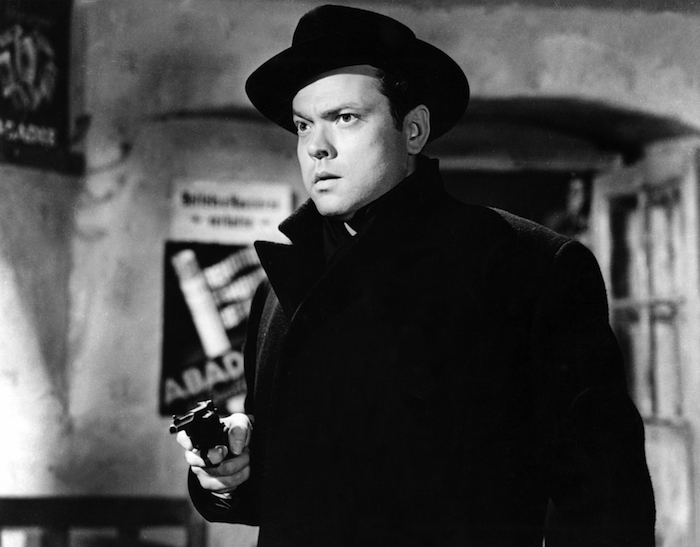 """Harry Lime (Orson Welles ) in """"The Third Man."""""""