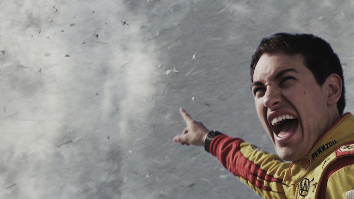 SHARKNADO 3: OH HELL NO! -- Pictured: Joey Logano -- (Photo by: The Global Asylum/Syfy)