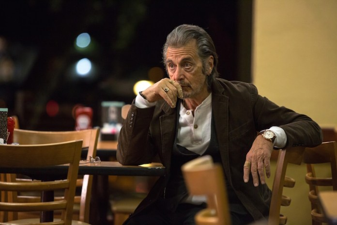 Al Pacino (A.J. Manglehorn) in David Gordon Green's MANGLEHORN.  Courtesy of Ryan Green.  An IFC Films release.
