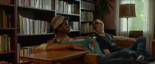 "RJ Cyler & Thomas Mann in ""Me and Earl and the Dying Girl"" (Fox Searchlight)"