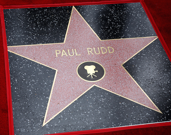 HOLLYWOOD, CA - JULY 01: Actor Paul Rudd honored with a Star on The Hollywood Walk of Fame on July 1, 2015 in Hollywood, California.  (Photo by Jesse Grant/Getty Images for Disney)