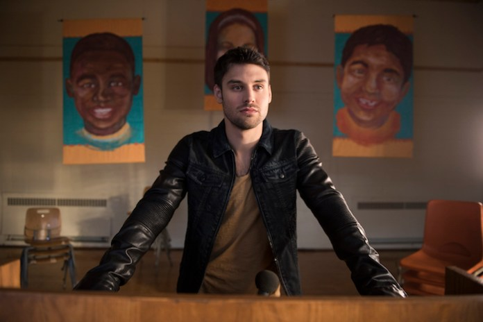 "HEROES REBORN -- ""Awakening"" - Pictured: Ryan Guzman as Carlos Gutierrez -- (Photo by: Christos Kalohoridis/NBC)"