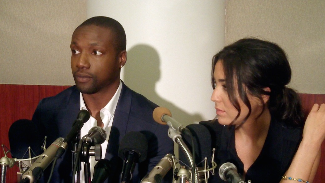 VIDEO: Rob Brown & Audrey Esparza Talk 'Blindspot' Journey