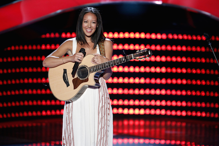 "THE VOICE -- ""Blind Auditions"" -- Pictured: Amy Vachal -- (Photo by: Tyler Golden/NBC)"