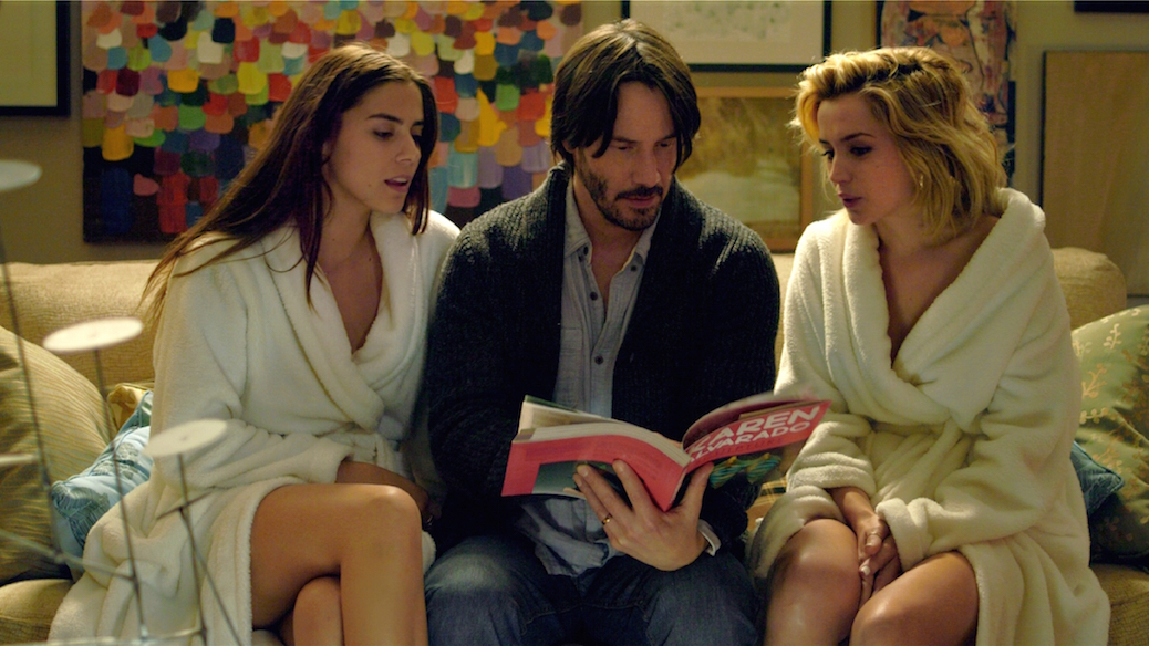 Eli Roth Gets Hitchcockian With 'Knock Knock' Visions
