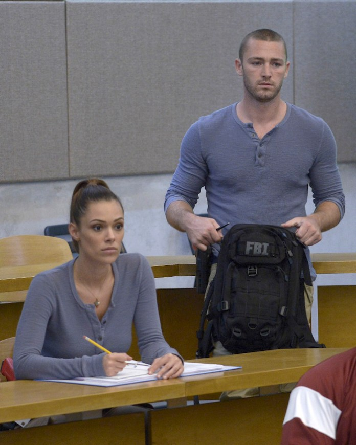 QUANTICO - (ABC/Phillippe Bosse) ANABELLE ACOSTA, JAKE MCLAUGHLIN