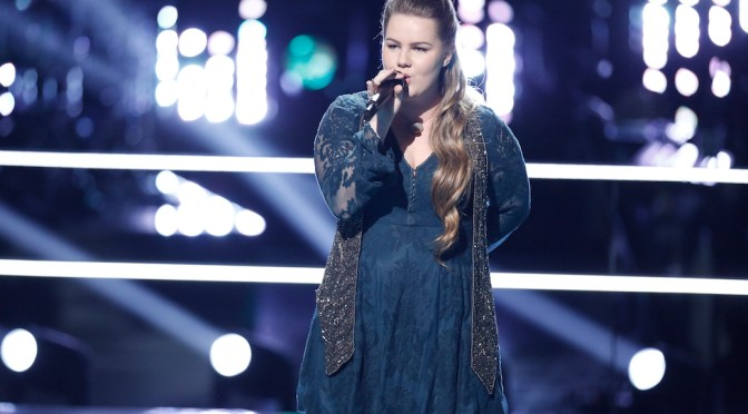 "Exclusive: Shelby Brown Reaches The ""Stars"" On 'The Voice'"