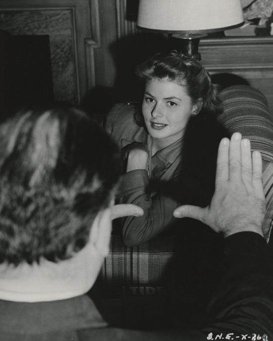 Ingrid Bergman. Photo: The Harry Ransom Center, Austin, TX