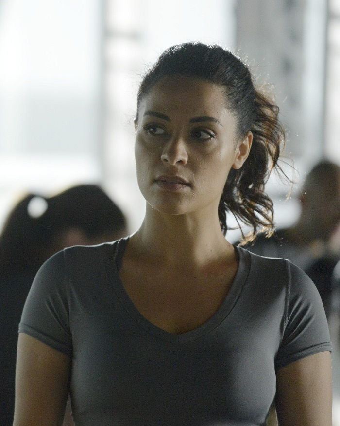 "QUANTICO - ""Quantico"" - At Quantico, an emergency disciplinary hearing causes deep secrets to be spilled, while in the future Alex works covertly with her team to find the real bomber before her time runs out. ""Quantico"" airs SUNDAY, DECEMBER 6 (10:00 p.m. - 11:00 p.m., ET) on the ABC Television Network. (ABC/Phillippe Bosse) YASMINE AL MASSRI"