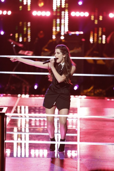THE VOICE -- Brittany Kennell -- (Photo by: Tyler Golden/NBC)
