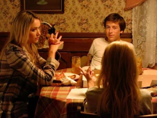 "Katrina Bowden, Skyler Gisondo, Kristin Chenoweith in ""Hard Sell"" (Momentum Pictures)"