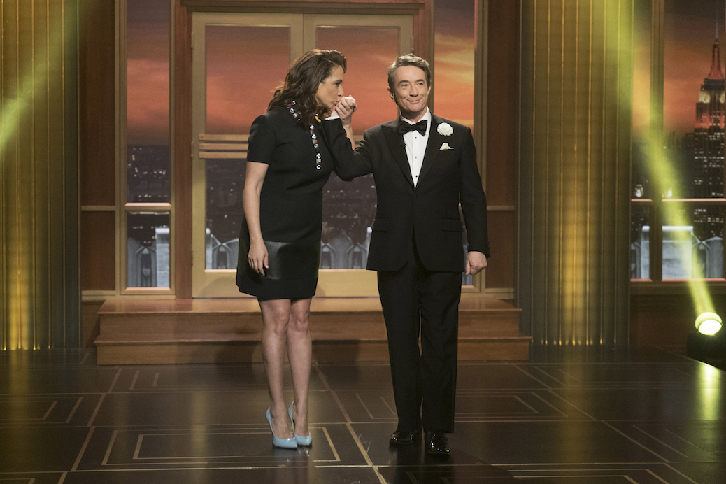 Martin Short Talks 'Maya & Marty' & 'I Married Monty'