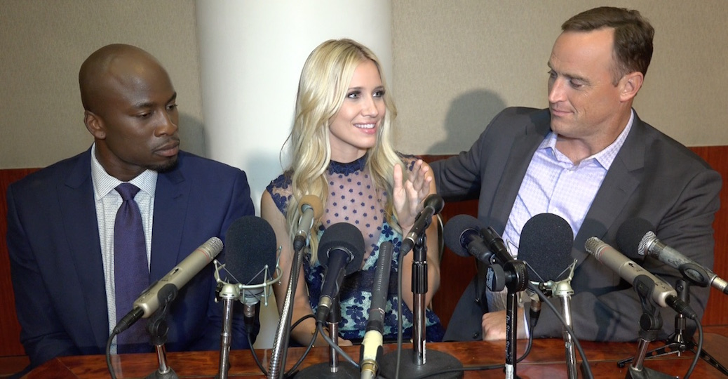 Kristine Leahy Talks Colin Cowherd Friendship And 'The Herd' Chemistry