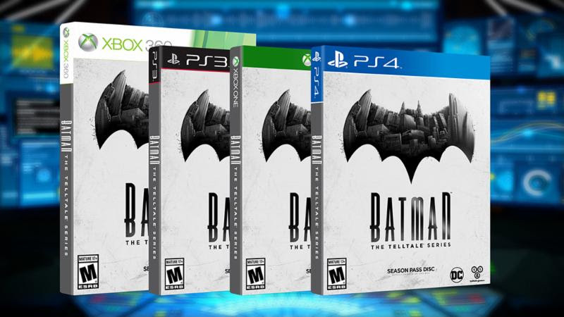 'Batman - The Telltale Series' Season Pass Disc