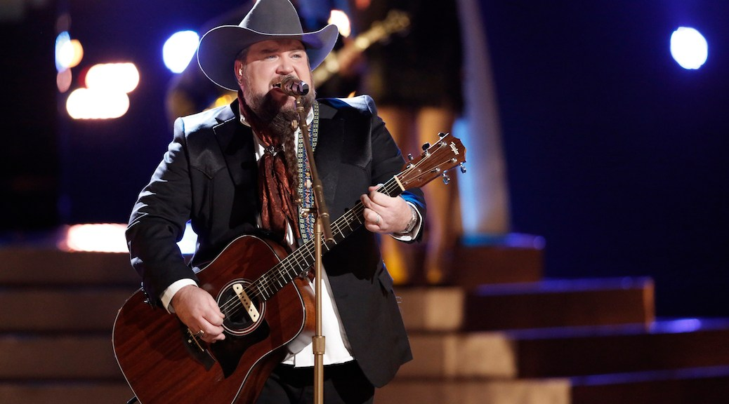 THE VOICE -- Pictured: Sundance Head -- (Photo by: Tyler Golden/NBC)