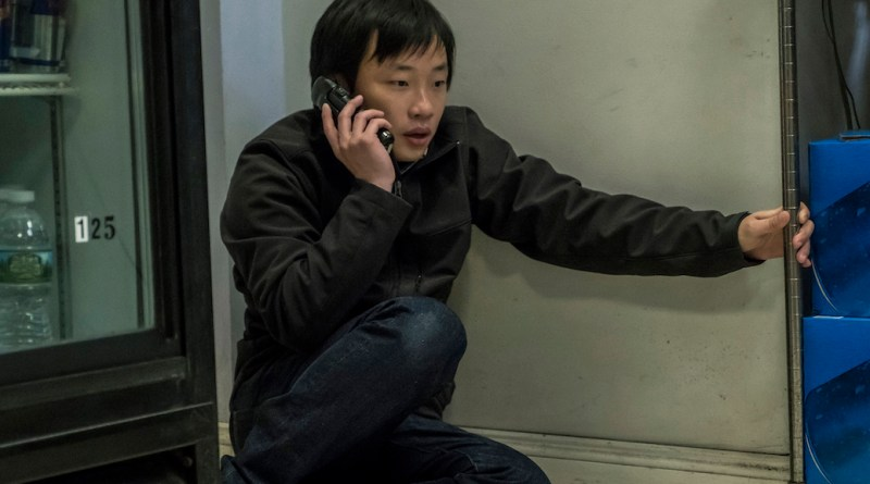 "Jimmy O' Yang in ""Patriots Day"""