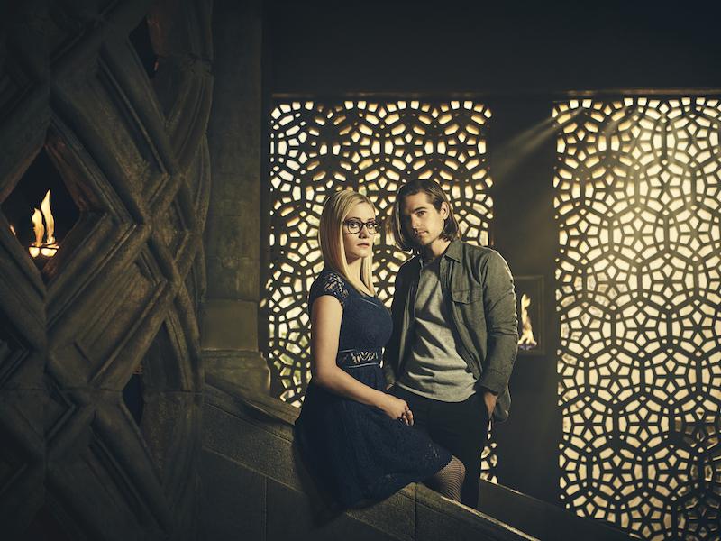 The Magicians - Olivia Taylor Dudley & Jason Ralph