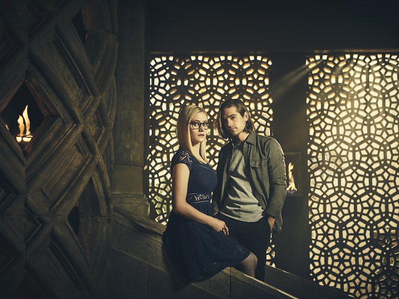 The Magicians - Olivia Taylor Dudley & Jason Ralph