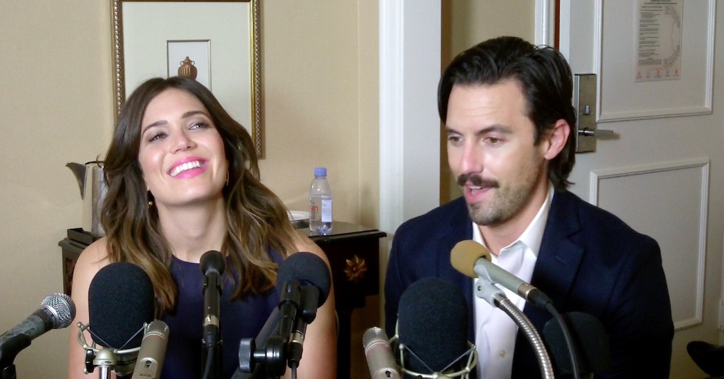 Milo Ventimigilia And Mandy Moore Talk 'This Is Us' Chemistry - And Bell Bottoms!