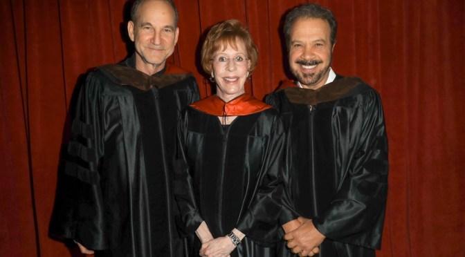 Carol Burnett Receives Honorary Degree From American Film Institute