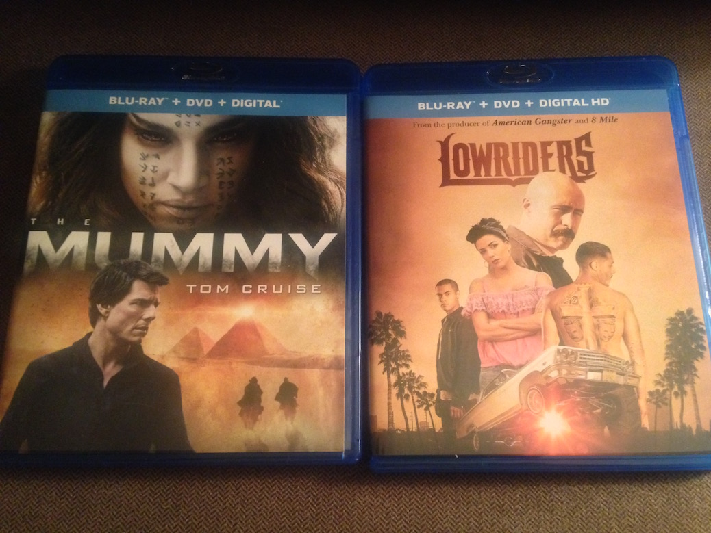 'The Mummy' And 'Lowriders' Blu-Ray Giveaway From CinemAddicts