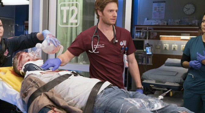 Nick Gehlfuss Talks Deep Doctor Respect With 'Chicago Med' Journey