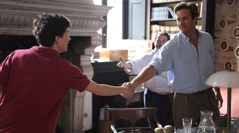Call Me By Your Name - Armie Hammer - Timothée Chalamet