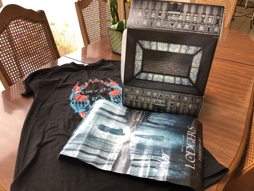 'The Lodgers' Blu-ray Prize Pack (T-Shirt, Poster) From CinemAddicts