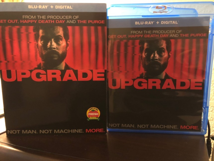 'Upgrade' Blu-Ray Giveaway From CinemAddicts!