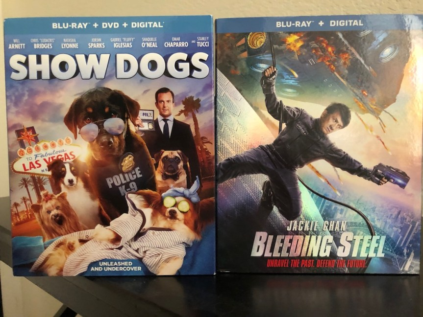 'Bleeding Steel' And 'Show Dogs' Blu-Ray Giveaway From CinemAddicts!