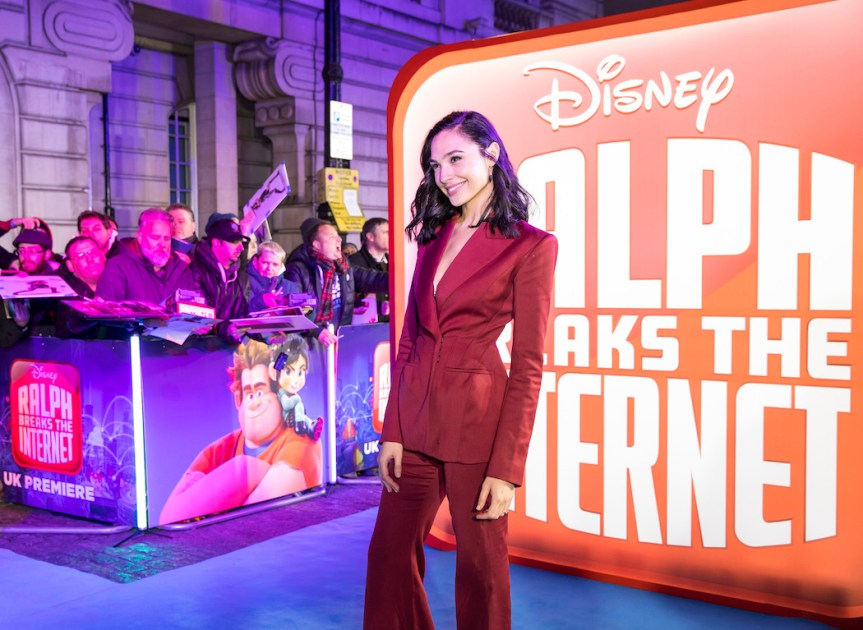 "Gal Gadot Feels ""Blessed"" With 'Ralph Breaks The Internet' Experience"