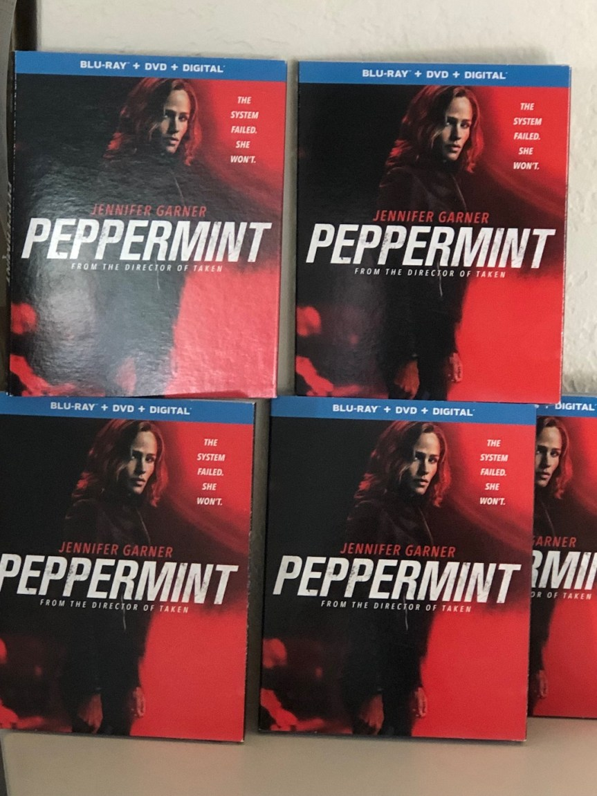 'Peppermint' Blu-Ray Giveaway From CinemAddicts!!