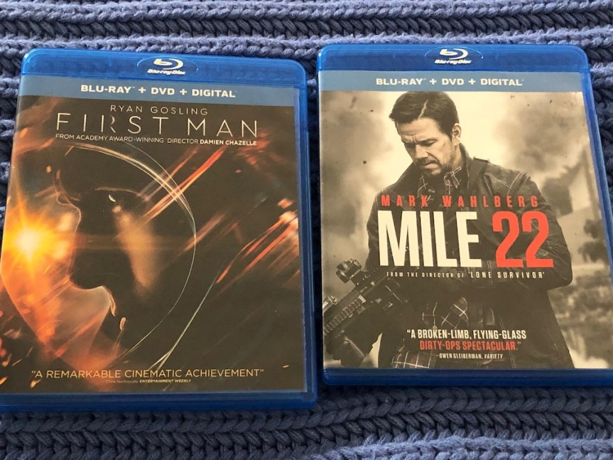 'First Man' and 'Mile 22' Blu-ray Giveaway From CinemAddicts!