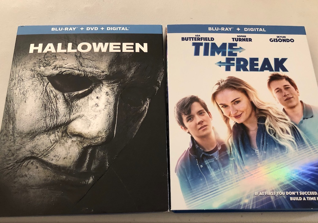 'Halloween' and 'Time Freak' Blu-ray Giveaway From CinemAddicts!