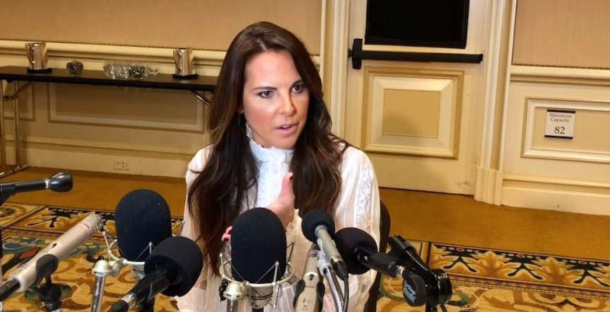 "Kate del Castillo On Staying Motivated And Passionate: ""There's So Much We Need To Do"""