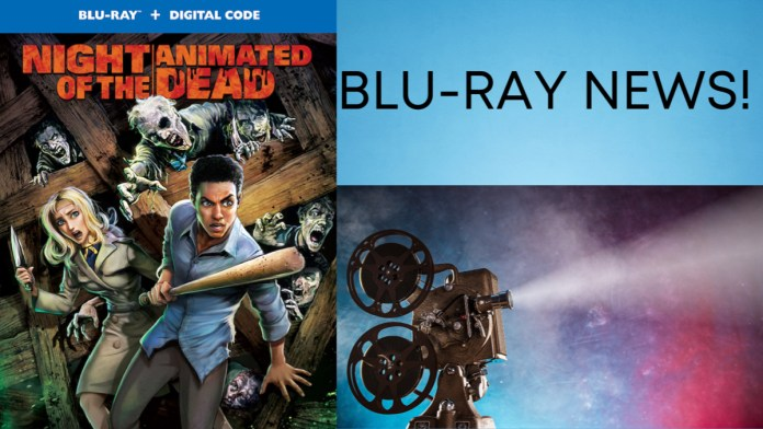 'Night of the Animated Dead' Lands Blu-Ray And DVD Release In October