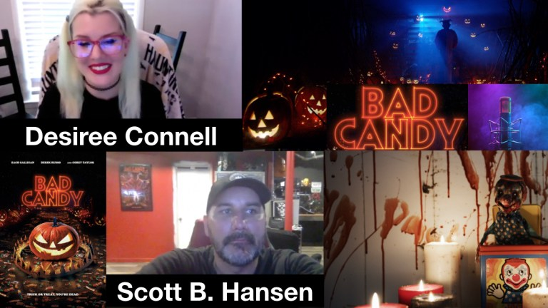 Desiree Connell and Scott B. Hansen Talk 'Bad Candy,' NFTs, And Indie Filmmaking