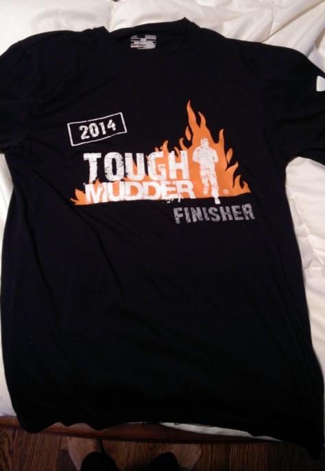 My finisher shirt