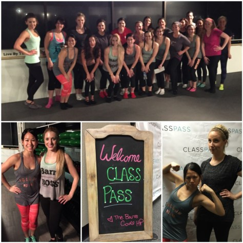 Don't underestimate barre. Kiersten's class at The Barre Code literally had my butt on fire.
