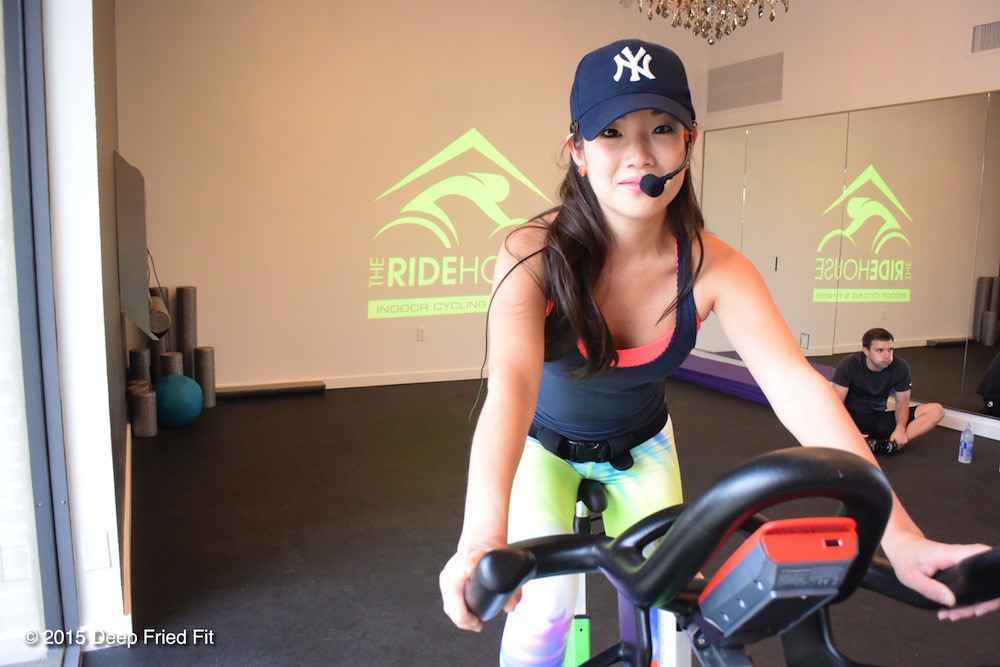 Jasmine is the Ride House's lead instructor. She is a fireball!