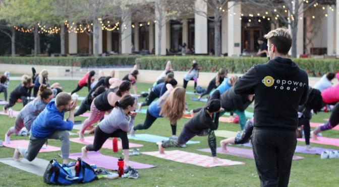 Sunset Flow with CorePower Yoga + 2 Upcoming Events to Know About