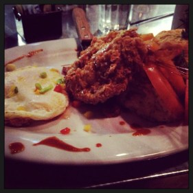 Chicken and Eggs at Hash House a Go Go