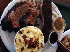 My 3 meat plate