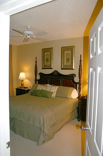 Beach Club Master Bedroom, Orange Beach, Alabama