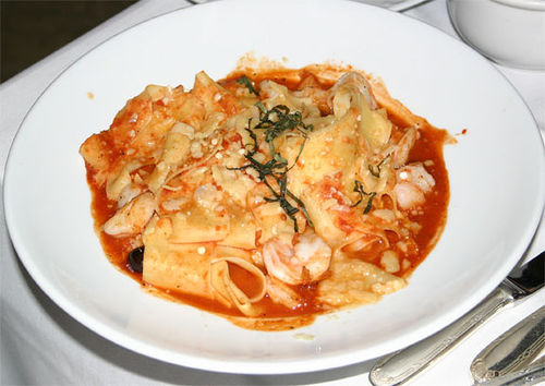 Pasta, Ritz-Carlton in New Orleans