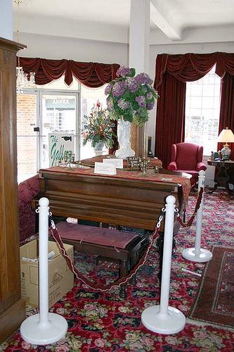 Hotel Talisi downstairs lobby, Tallassee, AL