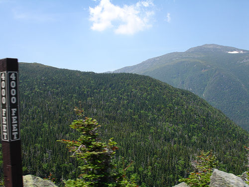 4000 Feet up Mt. Washington, New Hampshire